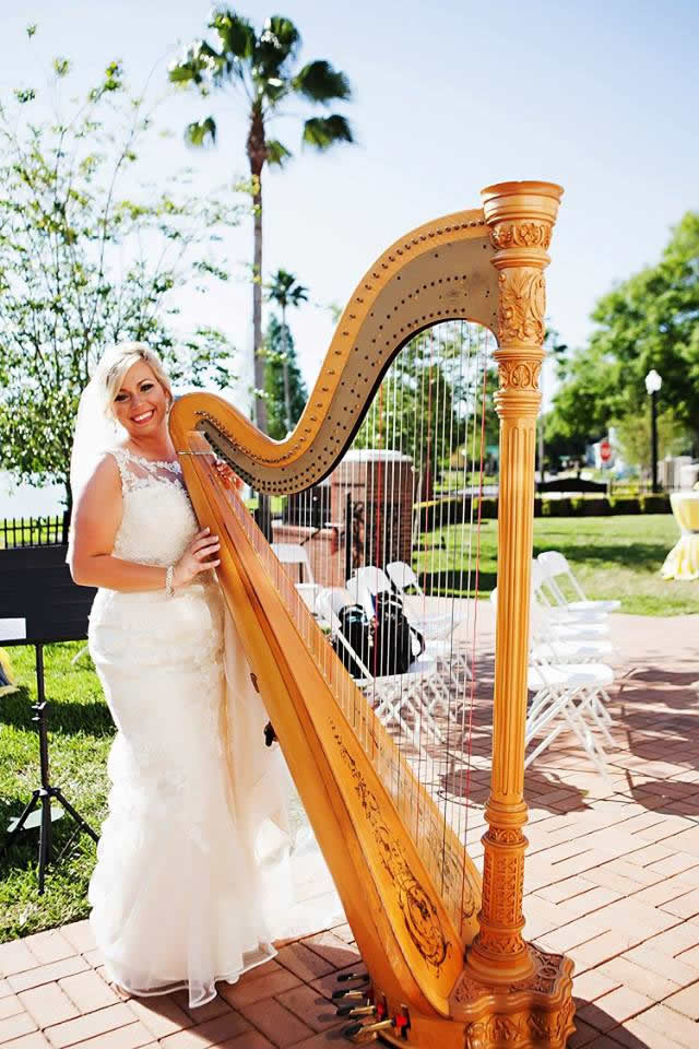 Tampa Bay Harpist Professional Harpist For Weddings And